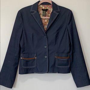 BCBG MAXAZARIA cropped blazer